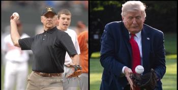 Trump Backs Out Of Throwing First Pitch? He Was Never Invited
