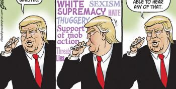 Political Cartoon:  The Dog Whistle