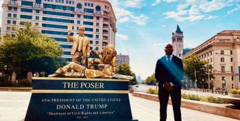 Street Performers In D.C. Depict The 'Legacy' Donald Trump Is 'Living Right Now'