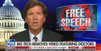 Tucker Reassures Viewers: Banned COVID-19 Lies Are Available On Fox News