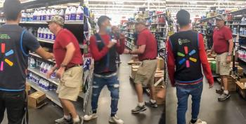WATCH: NC Walmart Customer Goes Berserk On 'Thug' Employee Whose Pants Are 'Too Low'