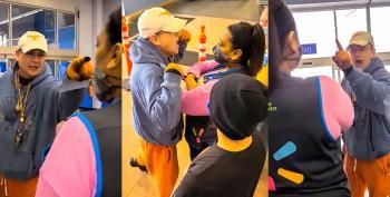 Anti-masker Accuses Walmart Employees Of 'Service To Satan' During Public Meltdown