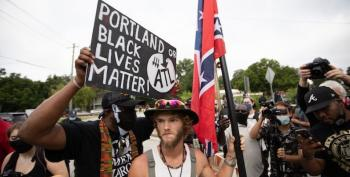 Cowardly Confederates Scatter As BLM Wins The Day At Stone Mountain