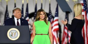 Did Melania Trump Greet Ivanka With A Smile And An Eye Roll At RNC?