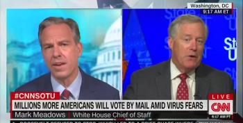 White House Chief Of Staff Meadows Pushes Lies About 'Widespread Voter Fraud' Again