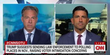 Acting DHS Chief Admits Trump Can't Send Agents To Harass Voters At Polling Places