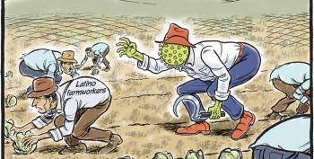 Cartoon: The Grim Reaper's Harvest