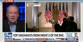 Huckabee Excuses Trump Lawbreaking At RNC With Fantasy That The Left Doesn't Care About Rioting