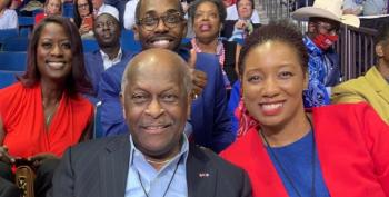Herman Cain Comes Back From The Dead To Attack Joe Biden & Kamala Harris