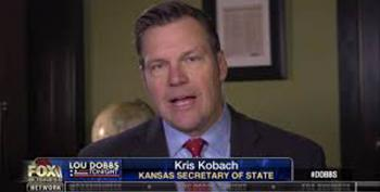 Today's Kansas Republican Primary: Dems Wish For KKKris Kobach On November Ballot