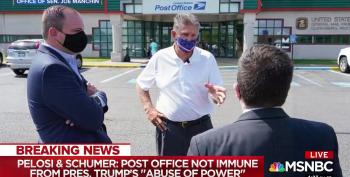 Sen. Manchin Promises 'One Heck Of A Fight' To Save The Postal Service
