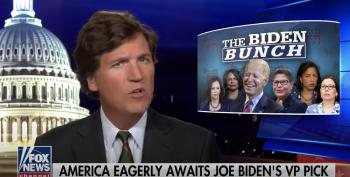 Tucker Carlson Says It's 'Probably Illegal' For Biden To Pick A Black Woman As VP
