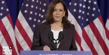 Sen. Kamala Harris Hammers Trump On His Many Failures Right Before His Big RNC Night