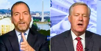 Mark Meadows: Social Justice Protests Are Not Part Of 'Donald Trump's America'