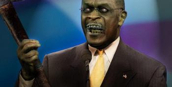 'Zombie' Herman Cain Tweets That Coronavirus 'Not As Deadly' As Media Said It Would Be
