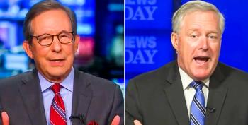 'It's A Hate Group': Chris Wallace Grills Mark Meadows Over Trump's Praise For QAnon