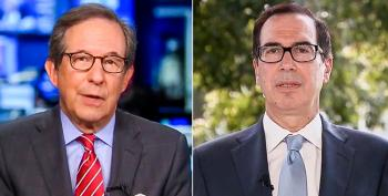 Mnuchin Threatens Taxpayers: Reelect Trump Or You'll Have To Pay Back The COVID Relief Money
