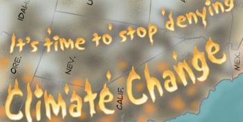Cartoon:  The West Burns