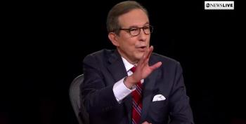 Chris Wallace Had One Job And He Failed