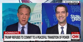 CNN's Tapper Tells Sen. Tom Cotton He Told A Pack Of Lies, But Only Fact-Checks One Of Them