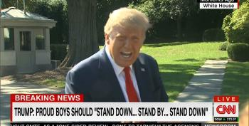 Trump Pretends He Doesn't Know Who The Proud Boys Are