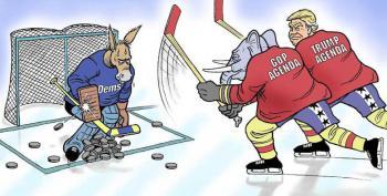 Cartoon: The Goalie