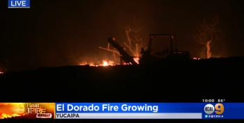 CA Officials: Smoke Machine At Gender Reveal Party Caused El Dorado Fire