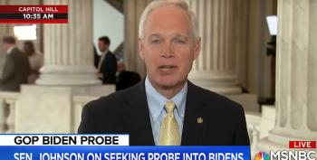 Sen. Johnson's Denials About Russian Disinfo Look More And More Bogus