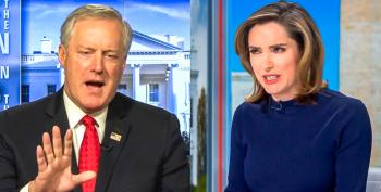 CBS Host Smacks Down Mark Meadows For Vaccine 'Interference': 'You're Not A Doctor'