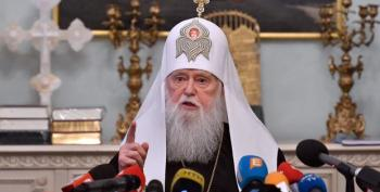 Ukrainian Church Leader Who Called COVID 'Punishment For Same-sex Marriage' Has COVID