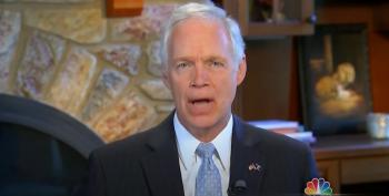 Sen. Ron Johnson Admits His Senate Investigation Into Biden Is To Help Trump