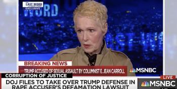 DOJ Files To Defend Trump Against E. Jean Carroll Defamation Case