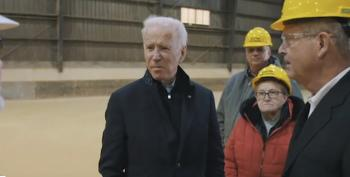 Joe Biden Speaks In Michigan On His 'Made In America' Plan