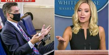 Kayleigh McEnany Can't Explain Why Trump Says COVID Affects 'Virtually Nobody'