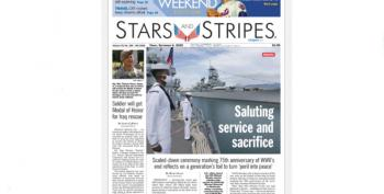 UPDATED:  Pentagon Orders 'Stars And Stripes' Shut Down