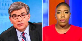 George Stephanopoulos Demands Symone Sanders Explain Why Biden Didn't Do More To Stop COVID-19