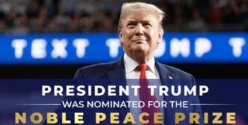 Trump Campaign Ad Misspells Nobel Peace Prize