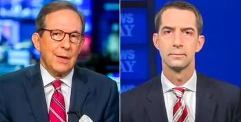 Chris Wallace Nails Tom Cotton For 'Hypocrisy' On Replacing Ruth Bader Ginsburg
