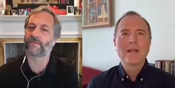 Judd Apatow Proves Adam Schiff Has No Future In Comedy.  HA!