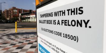 California GOP Accused Of Posting Fake Ballot Drop Boxes