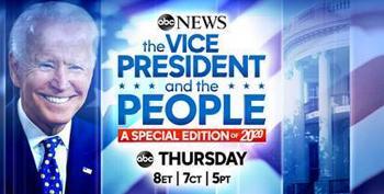 WATCH LIVE:  ABC News Town Hall With Joe Biden