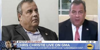 Friday News Dump: Chris Christie Suddenly Discovers Masks, And Other News