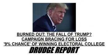 Drudge Report: Is Trump Burned Out?