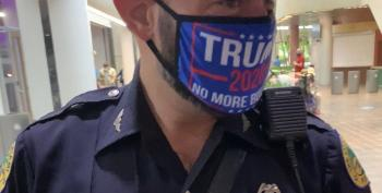 Miami Cop Wears 'Trump 2020' To Polling Station