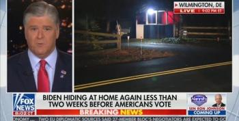 Panic At Fox:  Trump TV Tries An Intervention