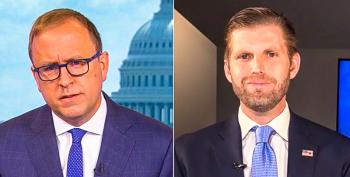 Eric Trump Claims Father Took 'Vaccine' After Getting COVID