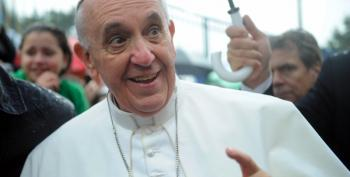 Pope Francis Approves Same-Sex Civil Unions, Unlike The GOP And Amy Coney Barrett