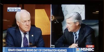 OUCH! Sheldon Whitehouse Wipes The Floor With John Cornyn Over Dark Money