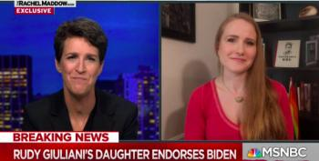 Rudy Giuliani's Daughter Urges Americans To Vote Biden-Harris: 'End The Reign Of Terror'