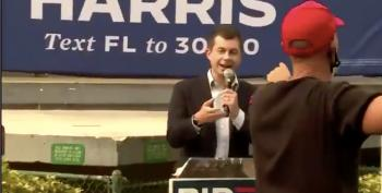 Mayor Pete Does In MAGA Heckler With One Question: 'Do You Denounce White Supremacy?'
